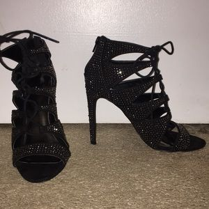 Madden Girl Dacey Lace Up Heel